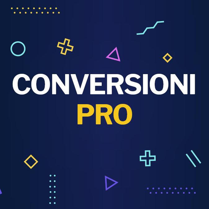 Corso Conversioni Pro